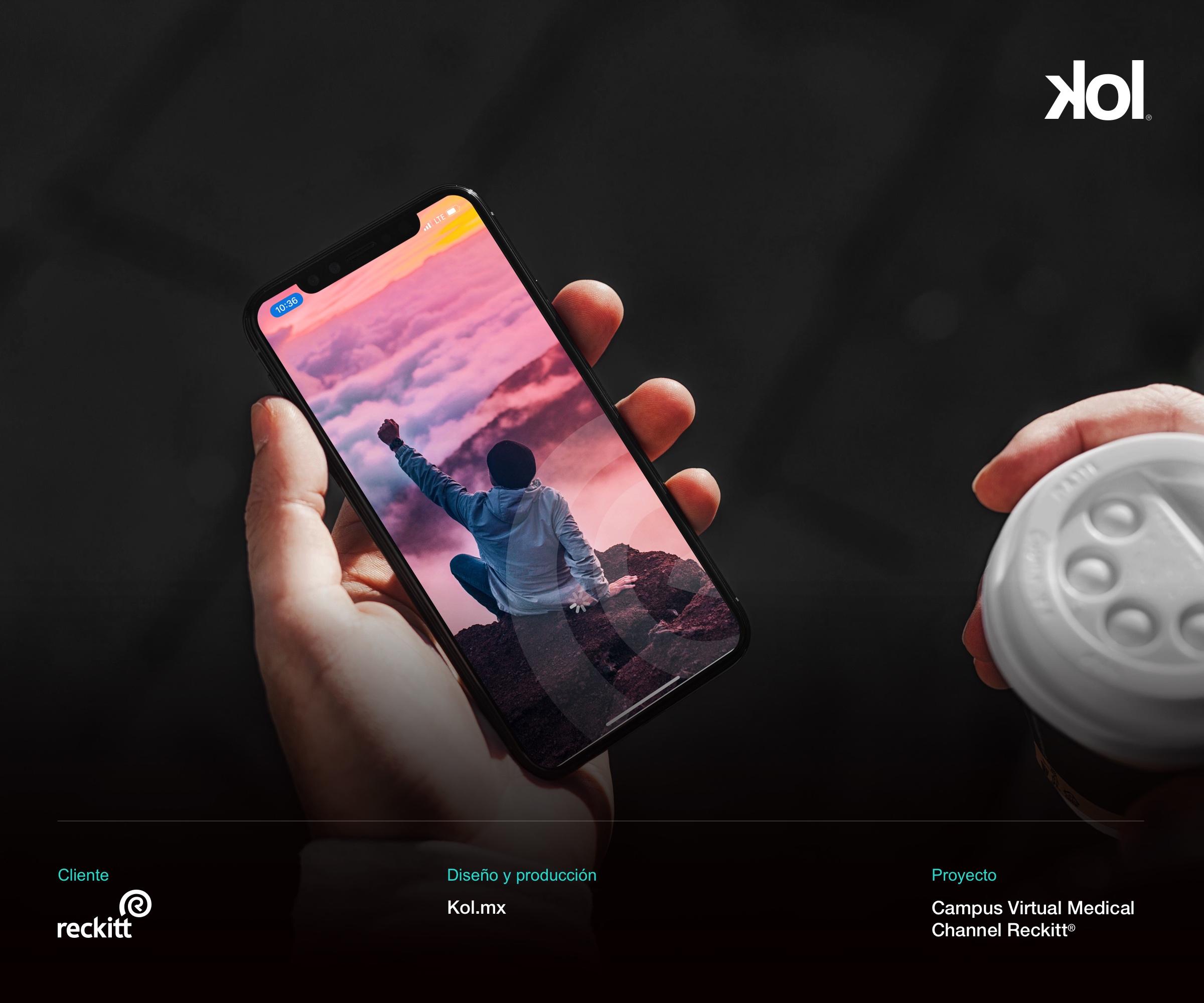 Campus Virtual Reckitt - iPhone 2 - Kol.mx